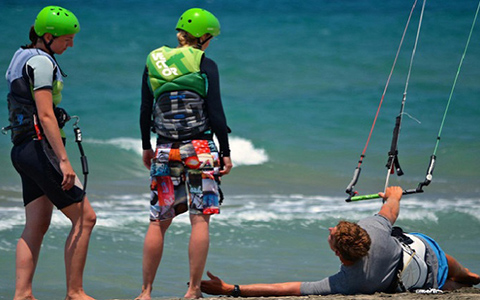 Delfini hotel booking services for kite surfing